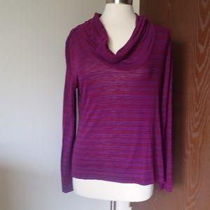 Route66 Purple Long Sleeve Shirt